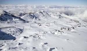 Sierra nevada blanca