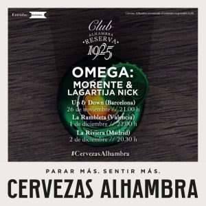 Omega Cervezas Alhambra