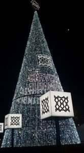 Árbol Navidad Cervezas Alhambra